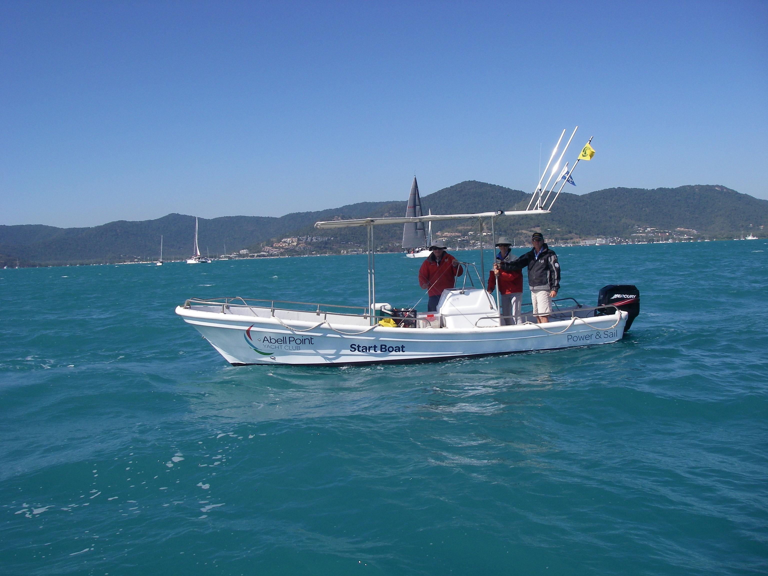 APYC Start Boat